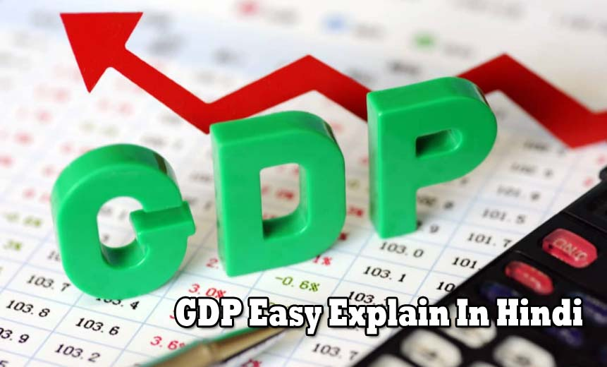 Easy Explain In Hindi What Is GDP