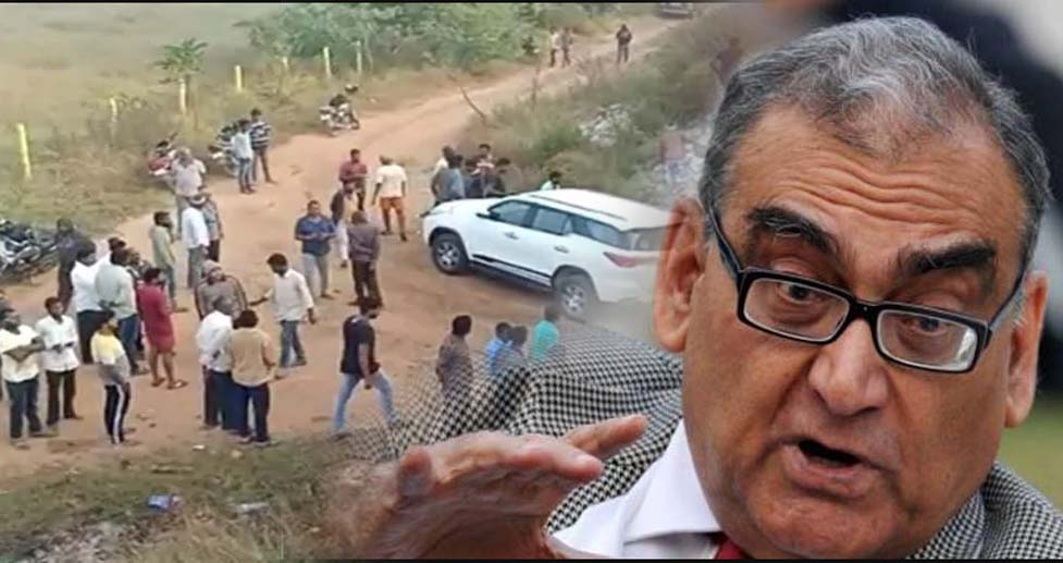 Justice Katju Bole Farji hai encounter